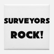 Surveyors ROCK Tile Coaster