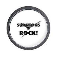 Surgeons ROCK Wall Clock