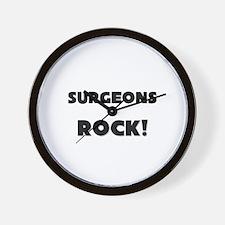 Surgeons ROCK Wall Clock