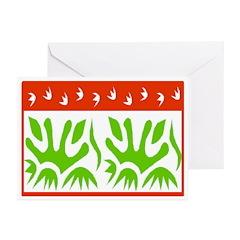 Season's Greetings Art Greeting Cards (Pk of 10