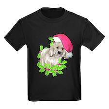 havanese Christmas puppy T