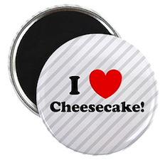 I Love Cheesecake! Magnet