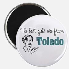 Best Girls Toledo Magnet