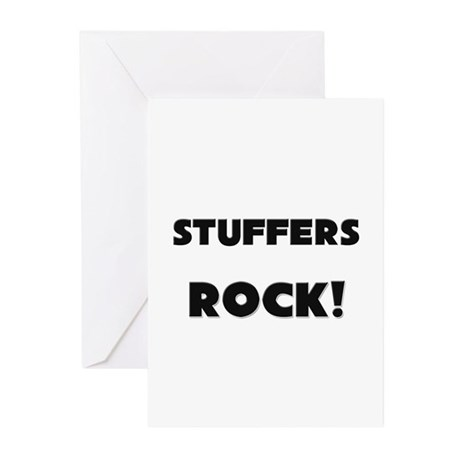 Stuffers ROCK Greeting Cards (Pk of 10)
