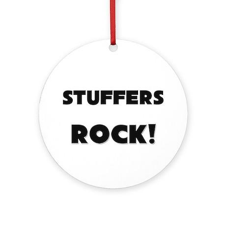 Stuffers ROCK Ornament (Round)