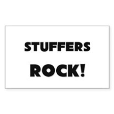 Stuffers ROCK Rectangle Decal