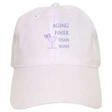 Witty 90th Birthday Baseball Cap