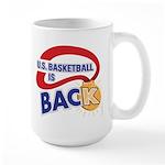 K brings home the gold... Large Mug