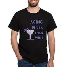 Witty 80th Birthday T-Shirt