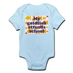 Goldfish attends school. Infant Creeper