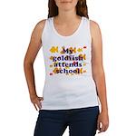 Goldfish attends school. Women's Tank Top