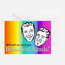 Homosexual Agenda Holiday Cards (Pk of 10)