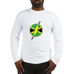 Jamaican Bolt Long Sleeve T-Shirt