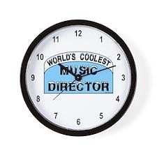 Cool Music Director Wall Clock