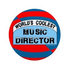 "Cool Music Director 3.5"" Button"