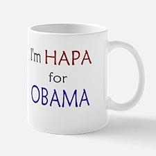 I'm Hapa for Obama Mug