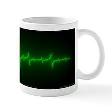 green/black Julia Set Mug