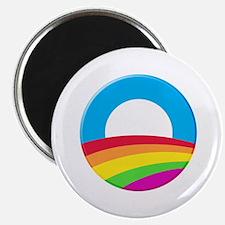 "Cute Obama rainbow 2.25"" Magnet (100 pack)"