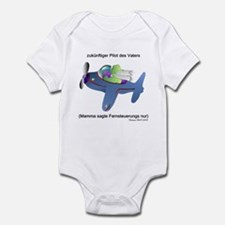 German Daddy's future flyer Infant Bodysuit