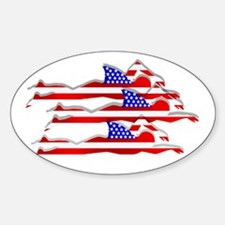 USA Swimming Decal