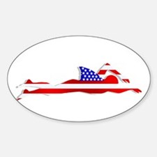 USA Swimmer Decal