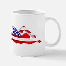 USA Swimmer Mug