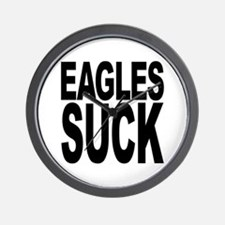 Eagles Suck Wall Clock