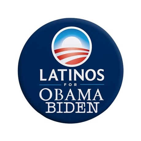 "Obama Biden Latinos 3.5"" Button"