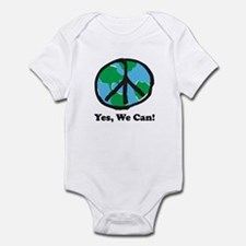 Peace Yes We Can Infant Bodysuit