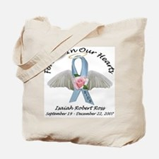 Isaiah SIDS Ribbon Tote Bag