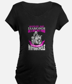 Never Owned A Motorcycle T Shirt Maternity T-Shirt