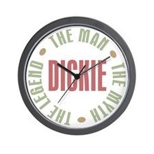 Dickie Man Myth Legend Wall Clock