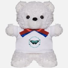Ovarian Cancer Awareness Month 3.3 Teddy Bear