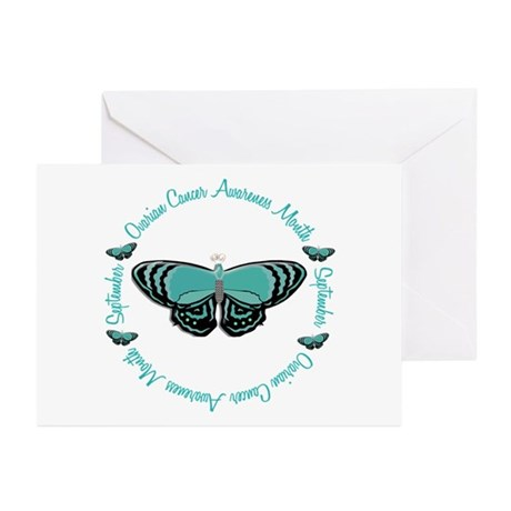 Ovarian Cancer Awareness Month 3.3 Greeting Cards