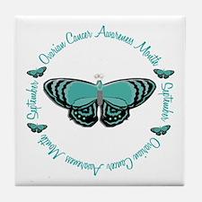 Ovarian Cancer Awareness Month 3.3 Tile Coaster