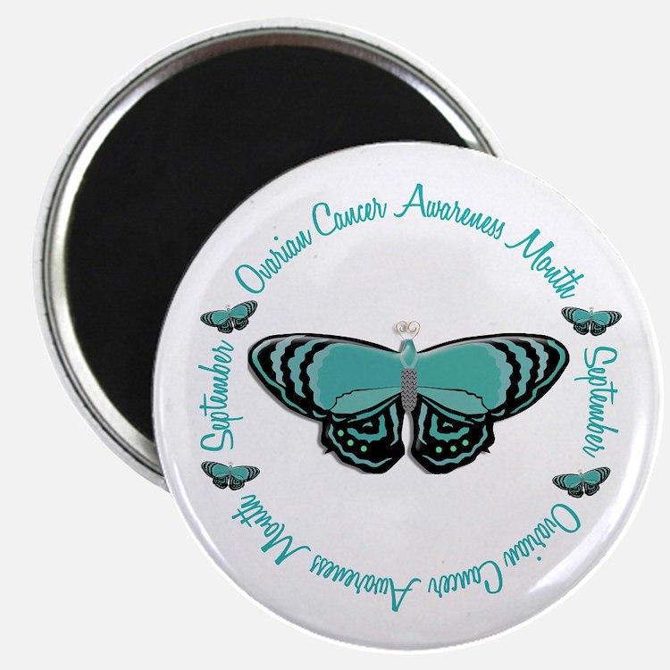 "Ovarian Cancer Awareness Month 3.3 2.25"" Magnet (1"