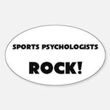 Sports Administrators ROCK Oval Decal