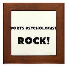 Sports Administrators ROCK Framed Tile