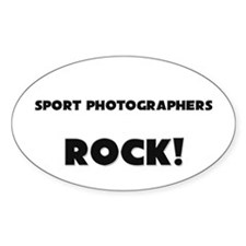 Spongologists ROCK Oval Decal
