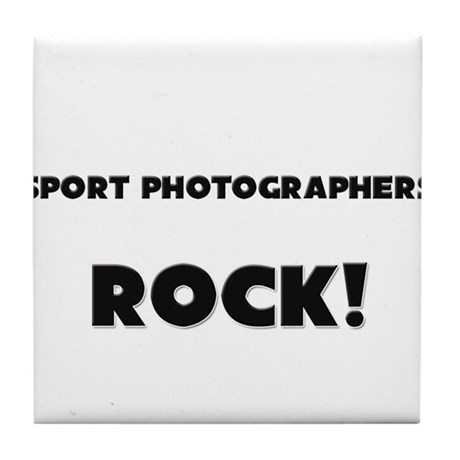 Spongologists ROCK Tile Coaster