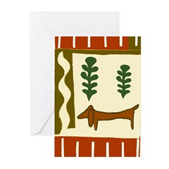 Country Dachshund Cards (Pk of 10