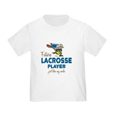 Future Lacrosse Player Like Uncle Toddler T-Shirt