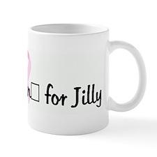 Team Joggin' for Jilly pink r Mug