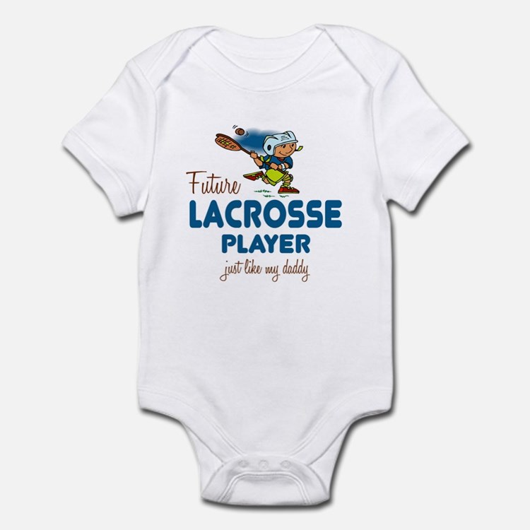 Future Lacrosse Player Like Daddy Infant Bodysuit