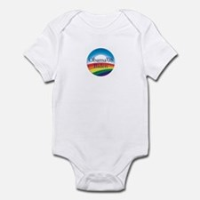 Obama Biden Rainbow Infant Bodysuit