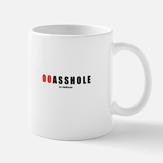 00 Asshole(TM) Mug