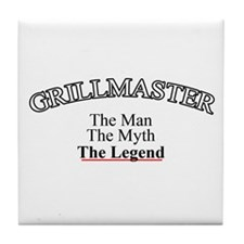 Grillmaster - The Legend Tile Coaster
