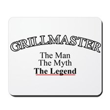 Grillmaster - The Legend Mousepad