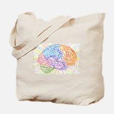Cool Brain Tote Bag