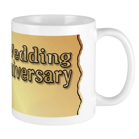 50th Anniversary Golden Heart Mug